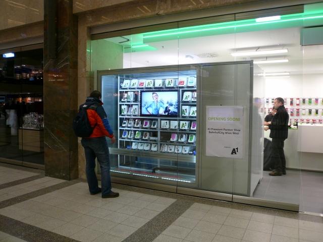 retail machine business