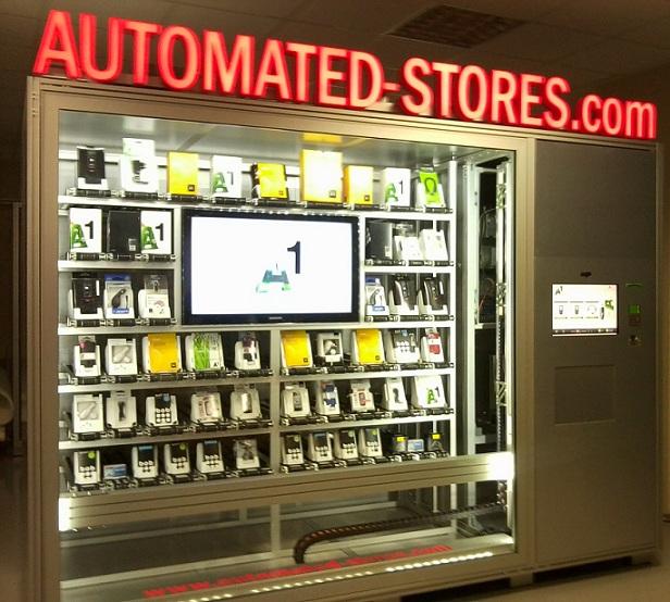 machine stores