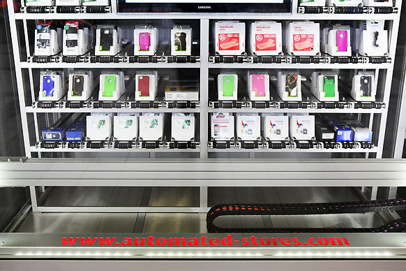 automated stores in Vienna Austria A1 Telekom
