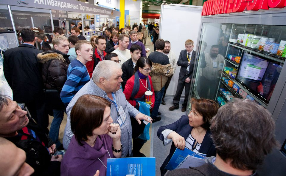 vendoexpo 2013 moscow russia automated stores