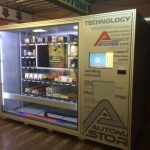 Vending machine for coffee, tea