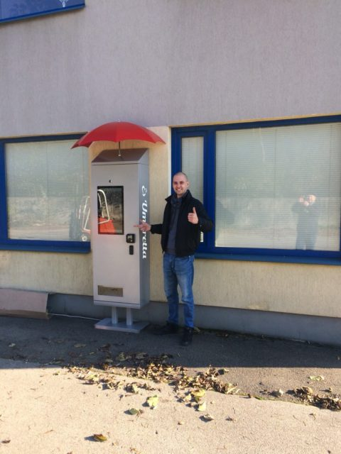 vending machines umbrella