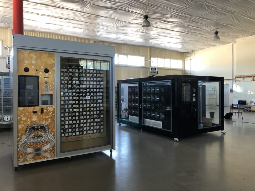 Custom made vending machines, automated stores
