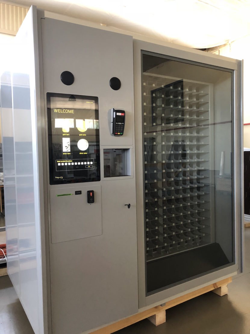 pure gold vending, gold automated stores