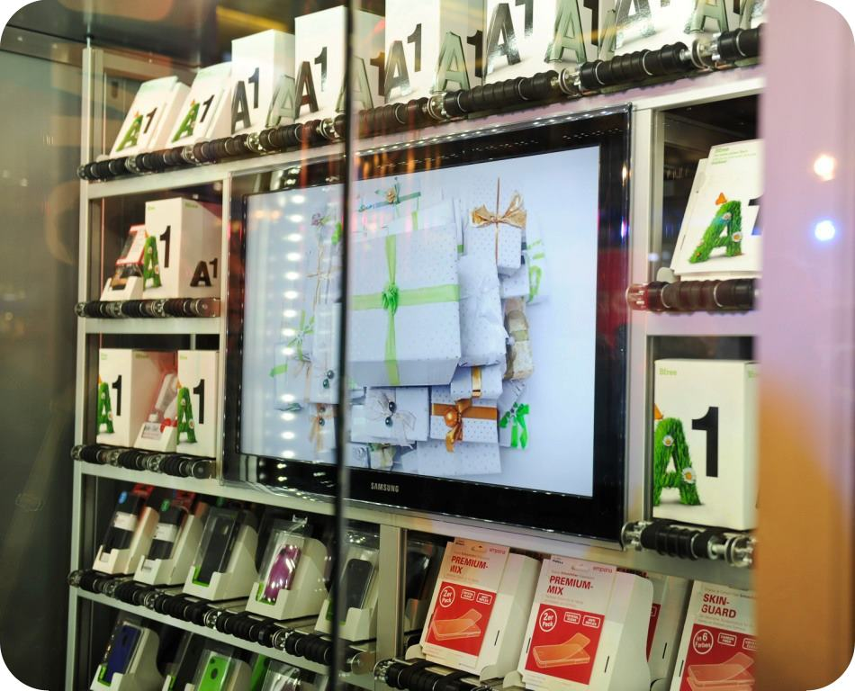 A1 telekom austria automated retail stores automated vending automated kiosk automation industry
