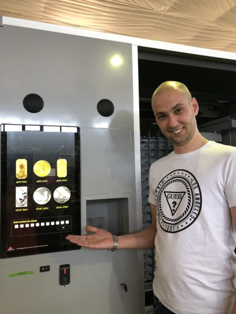 pure gold vending, gold atm, gold to go, gold vending machines